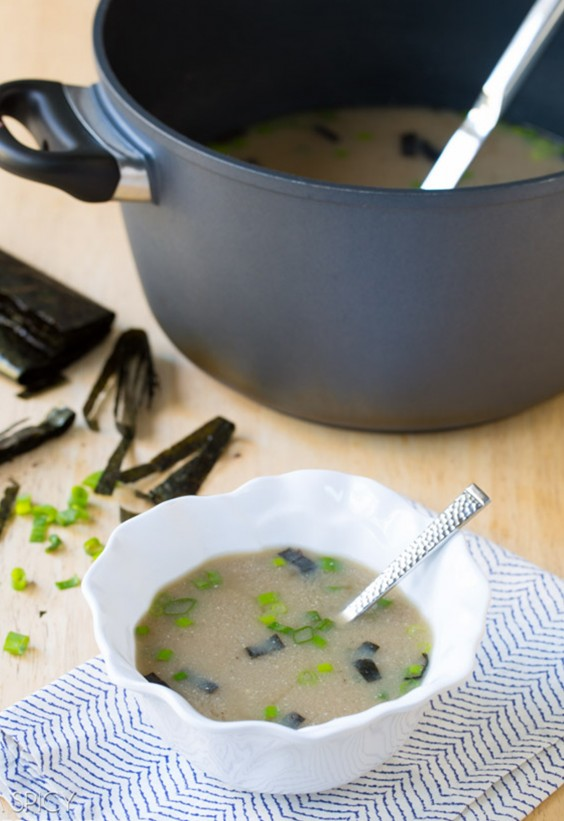 5-Ingredient Dinner: Miso Soup