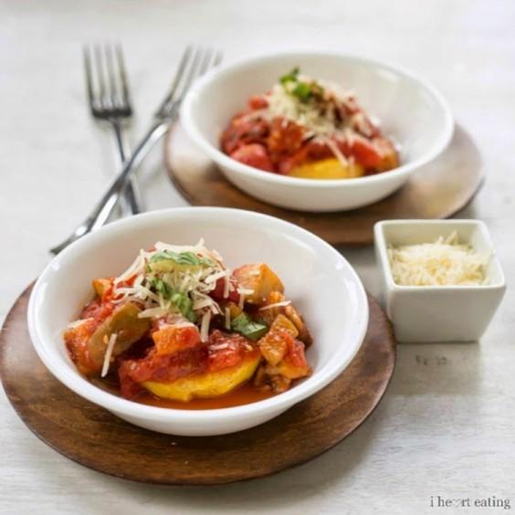 Vegetarian Recipes: Summer Vegetable Ragu by I Heart Eating