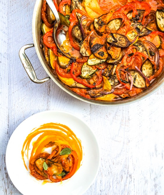 One Pot Meals: Classic French Ratatouille