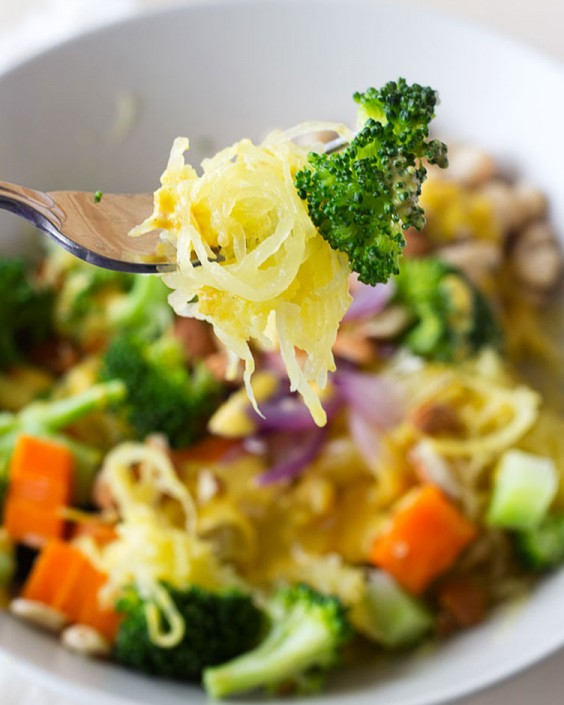 Spaghetti Squash Comfort Bowl