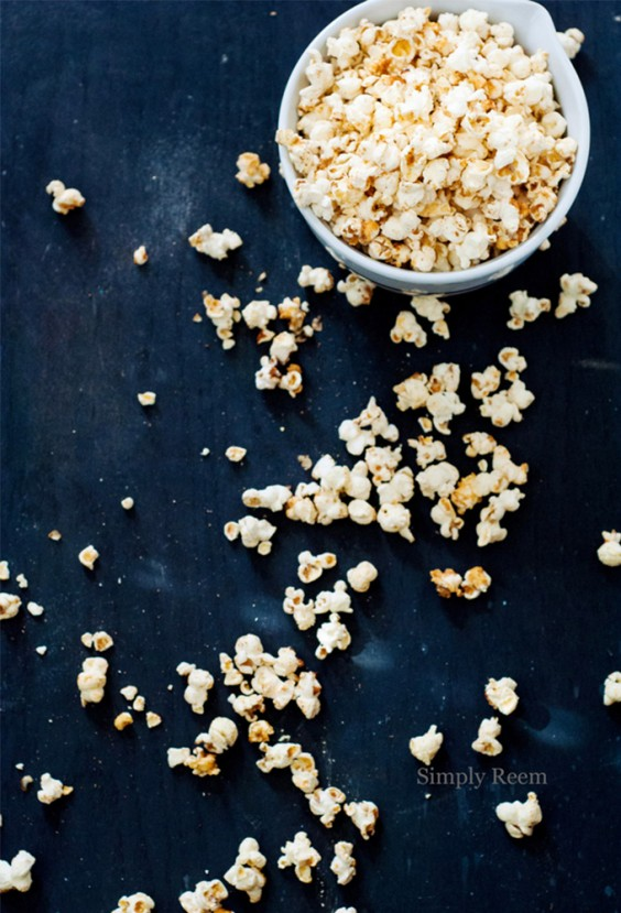 19. Tangy Tequila Popcorn