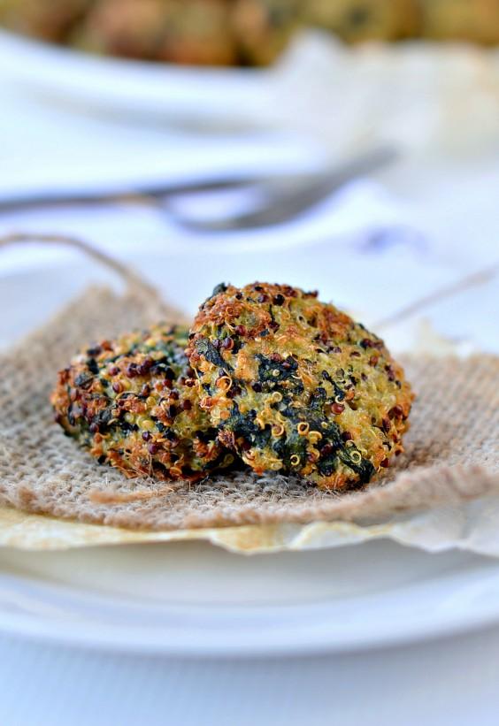 5-Ingredient Dinner: Spinach quinoa patty