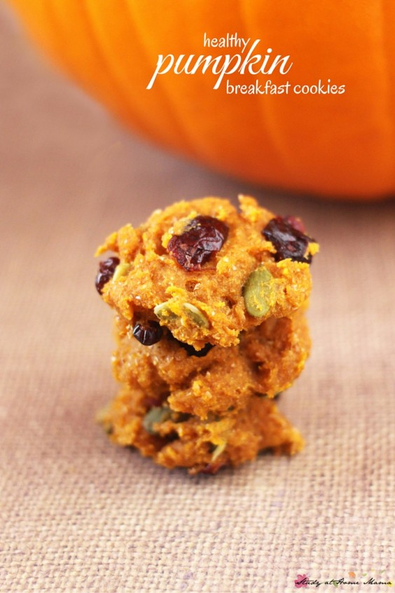 19. Pumpkin, Pepito, and Cranberry Cookies