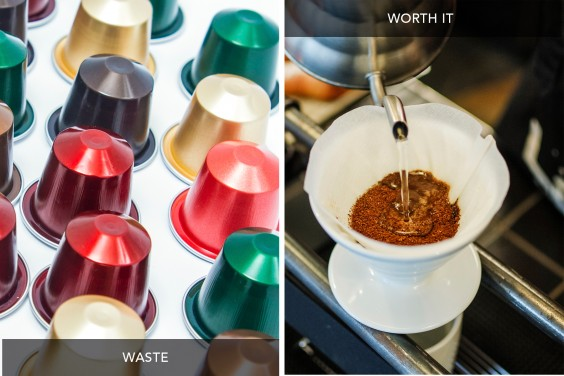 Coffee Pods vs Pour Over