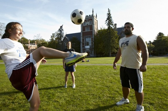 The 25 Healthiest Colleges 2013: Bowdoin College