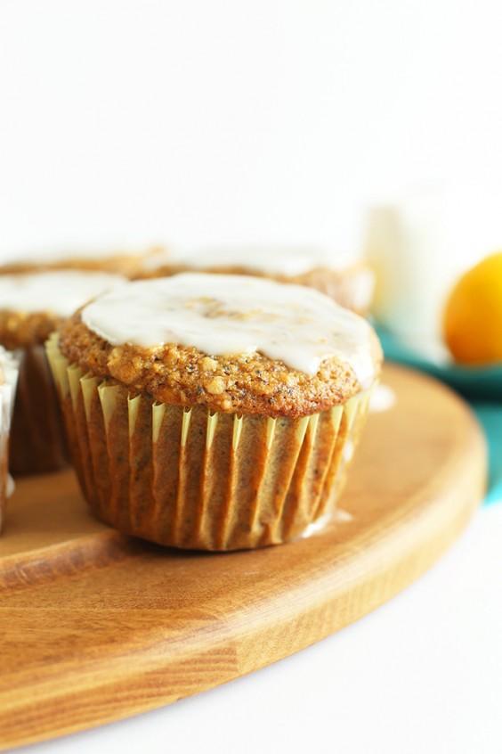 1. Vegan Meyer Lemon Poppy Seed Muffins