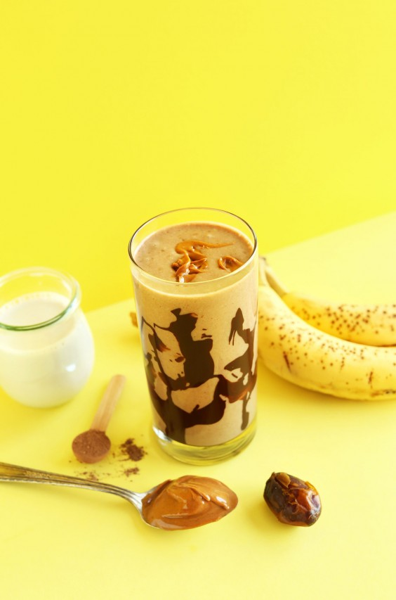 1. Peanut Butter Banana Smoothie