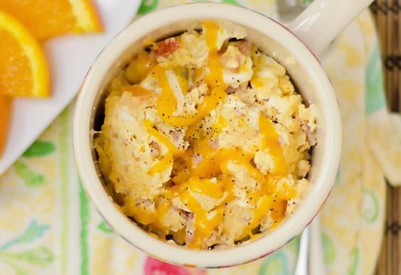 8. Omelette in a Mug