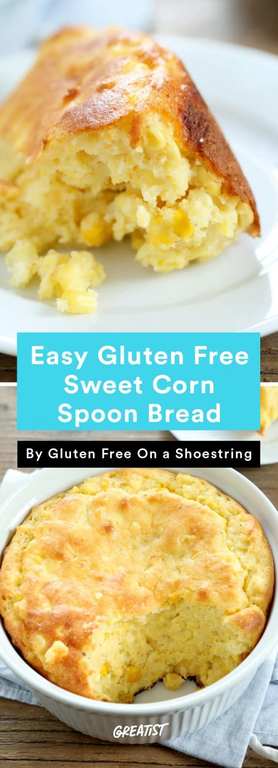 gluten free thanksgiving: Sweet Corn Spoon Bread