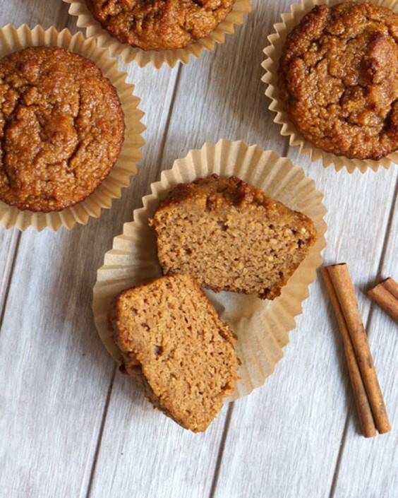 Paleo Pumpkin Spice Muffins