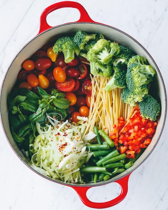 Healthy Pasta Recipes: One-Pot Vegan Pasta