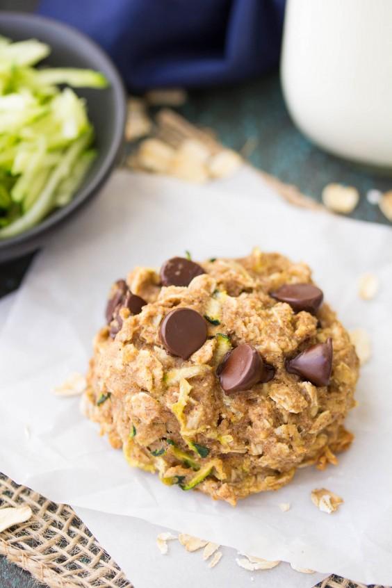 Chocolate Chip Zucchini Breakfast Cookies