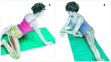 Frog Pose and Wide Side Lunge Pose