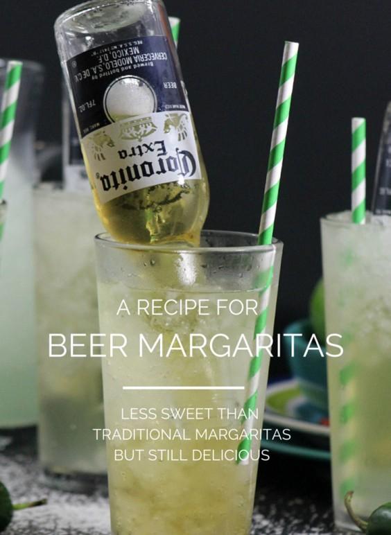Mexican Recipes: Beer Margarita