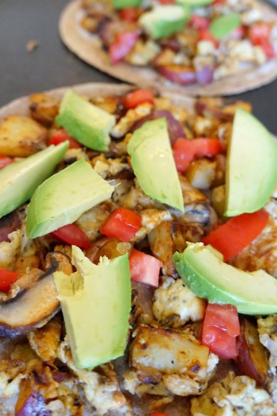 Healthy Breakfast Recipes: One-Pan Breakfast Quesadillas for Two