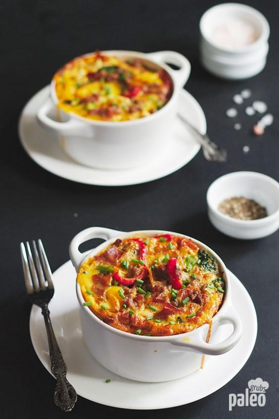 Paleo Breakfast Casserole in a Cup