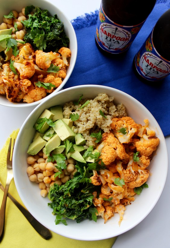Spicy Cauliflower Power Bowl