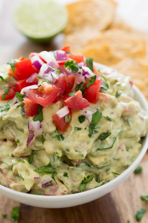 Greek Yogurt Guacamole Recipe