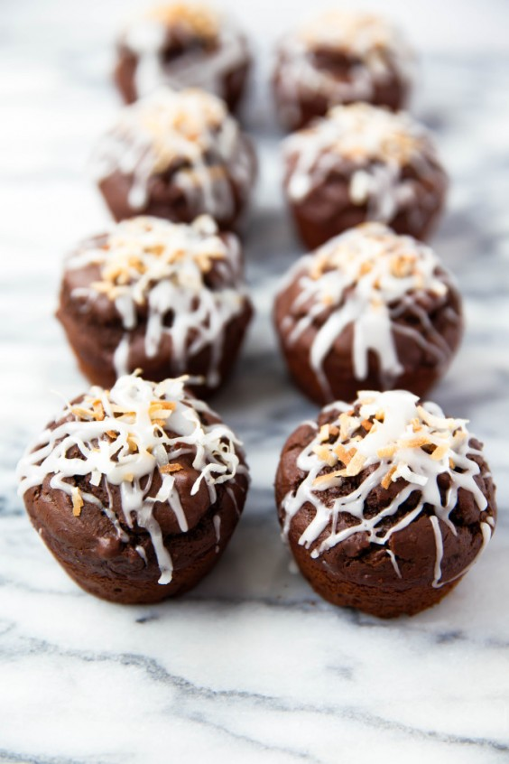 20. Double Chocolate Coconut Muffins