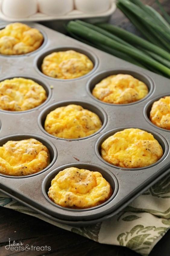 20. Ham & Cheese Egg Muffins