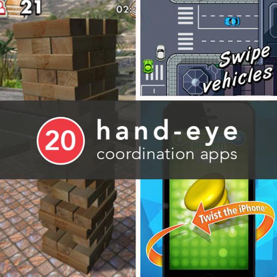 Hand-eye coordination Banner