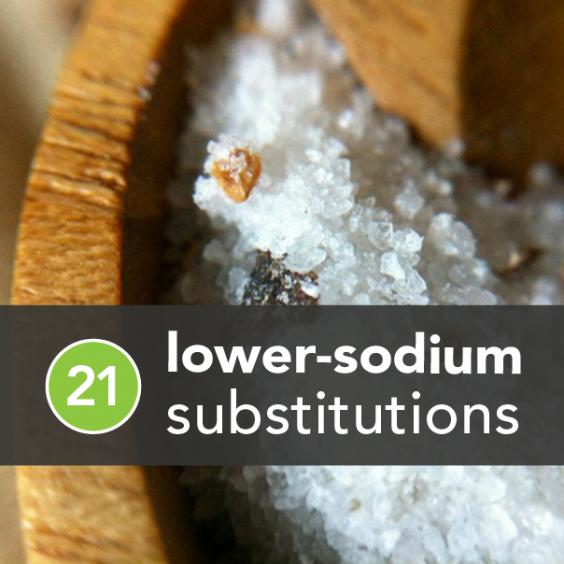 21 Lower-Sodium Substitutions