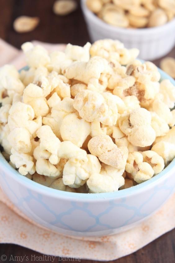 21. Skinny Peanut Butter Kettle Corn