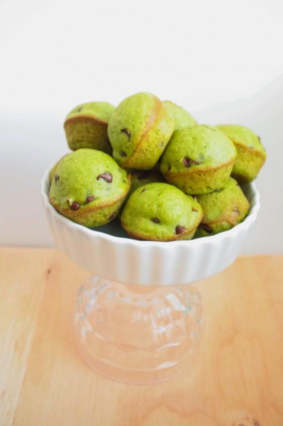 Greens Recipe: Spinach Chocolate Chip Muffins