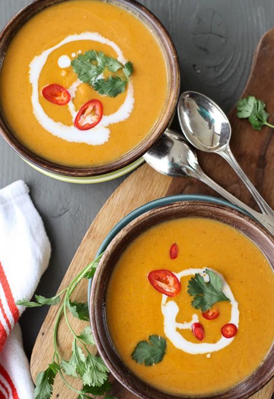 5-Ingredient Dinner: Pumpkin Soup