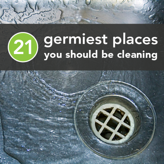 Germiest places