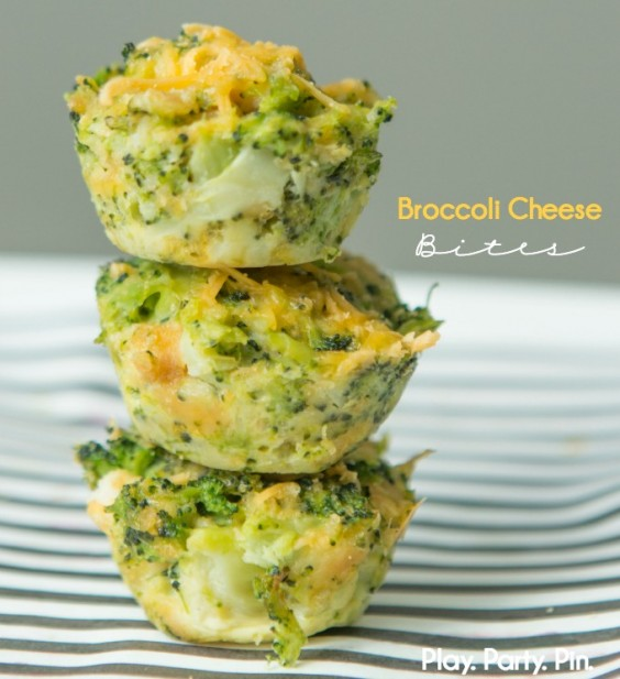 21. Broccoli Cheese Bites