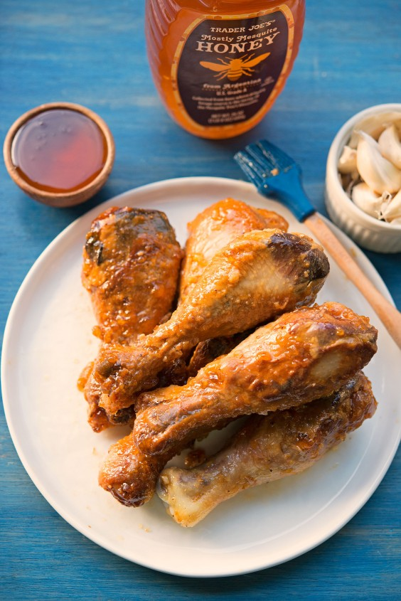 Paleo-Friendly Honey Garlic Wings