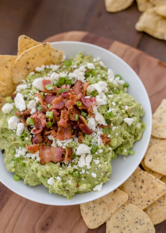 Bacon Feta Guacamole Recipe