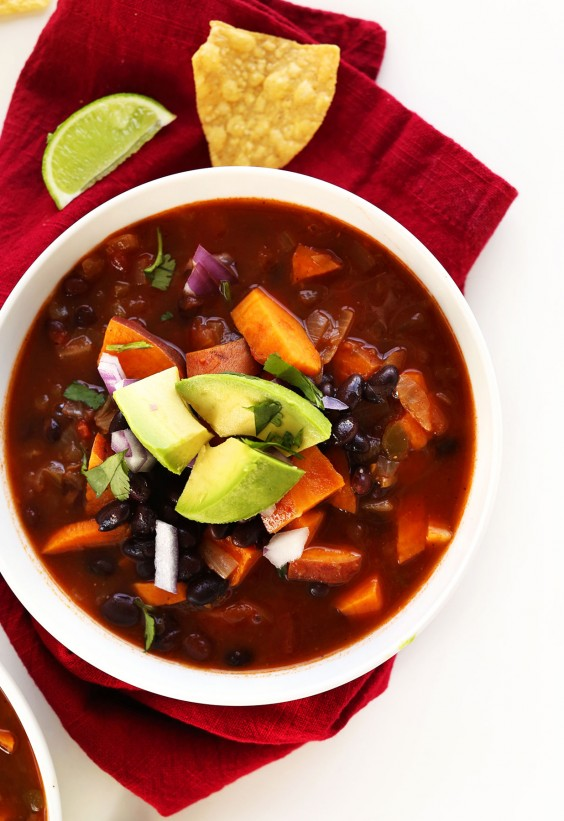 5-Ingredient Dinner: Sweet Potato Bean Chili