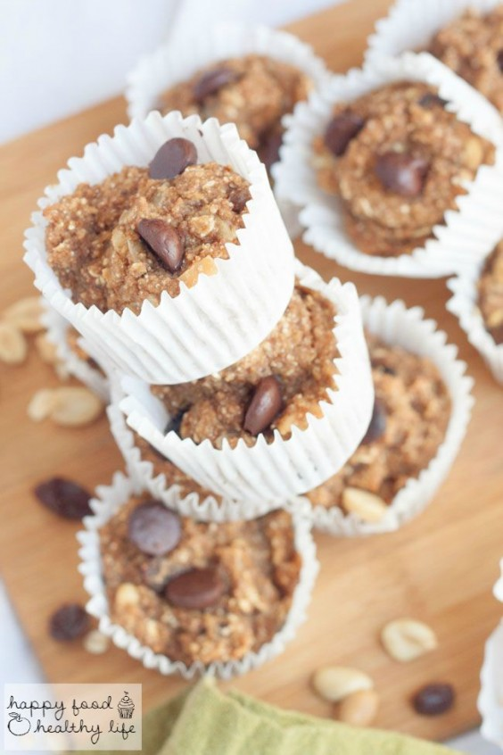 22. Healthy Trail Mix Muffins
