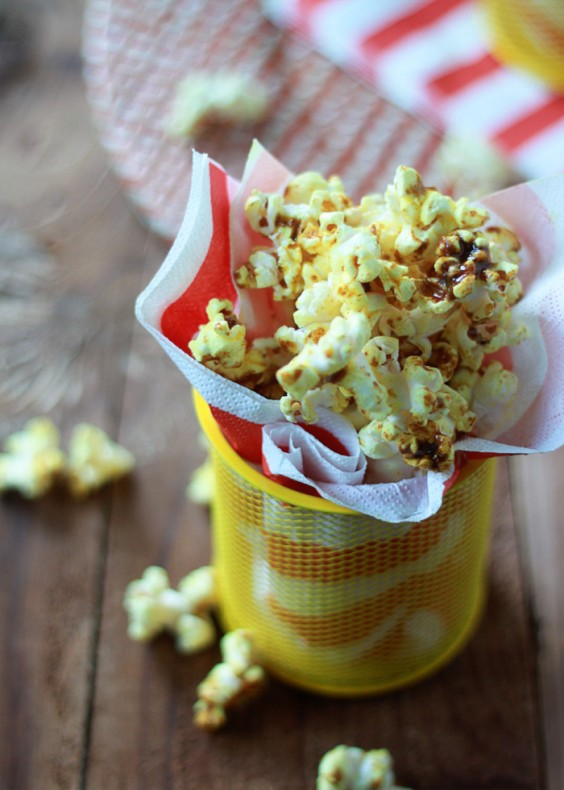 23. Spicy Curry Popcorn