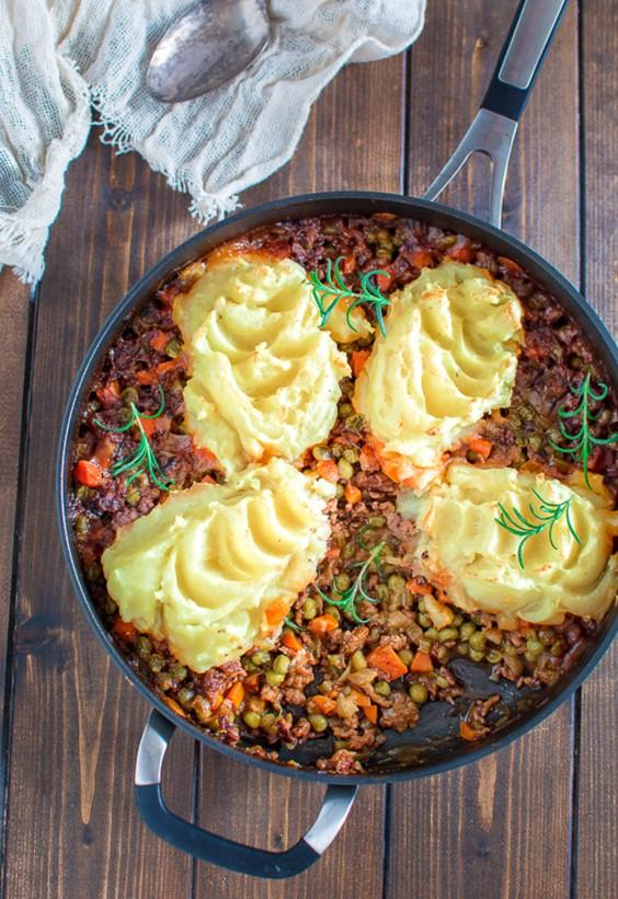 One Pot Meals: Skillet Gardener's Pie