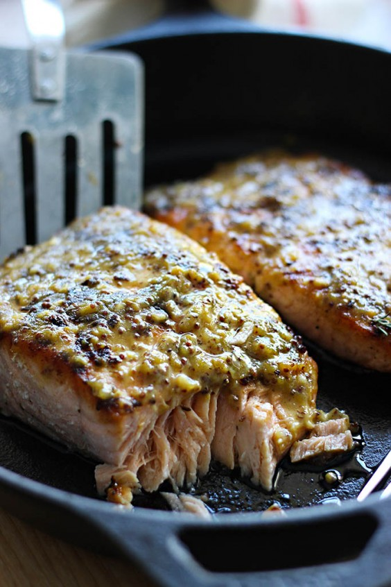 5-Ingredient Dinner: Honey Mustard Salmon