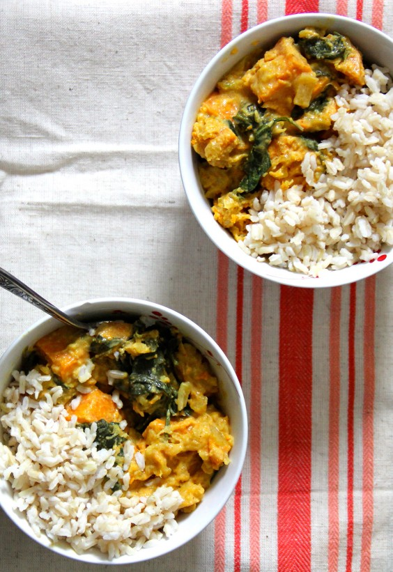 One Pot Meals: Sweet Potato Pineapple Curry