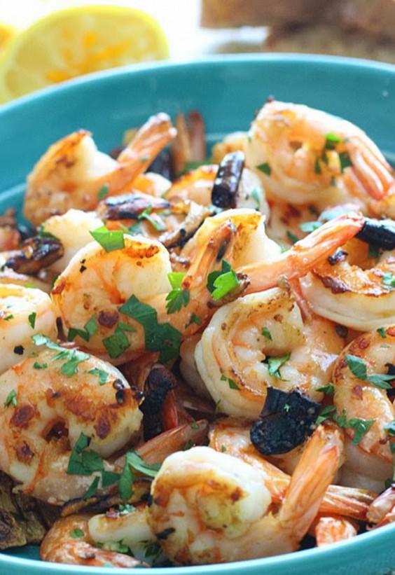 5-Ingredient Dinner: Spicy Shrimp