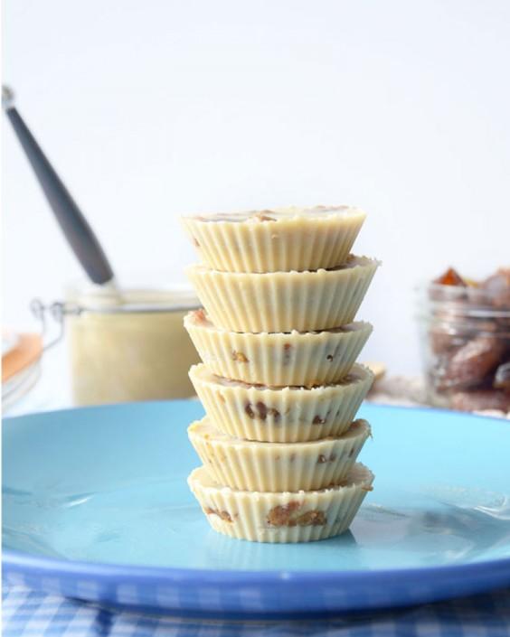 Salted Tahini Cups