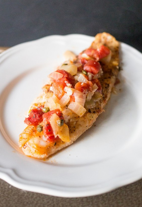 5-Ingredient Dinner: Tuscan Baked Fish