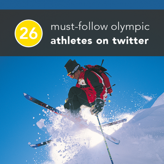 26 Must-Follow Winter Olympic Athletes on Twitter