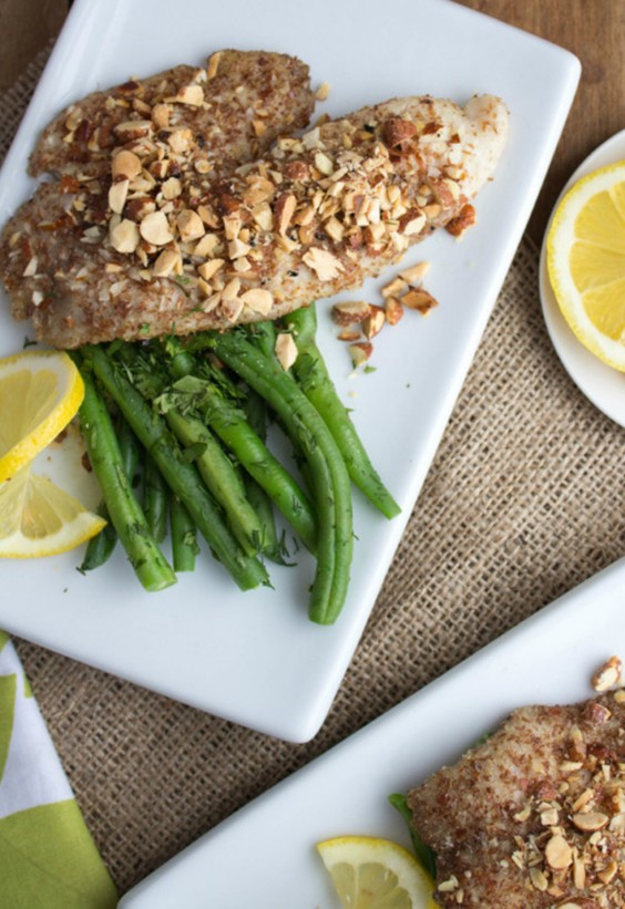 5-Ingredient Dinner: Almond Tilapia