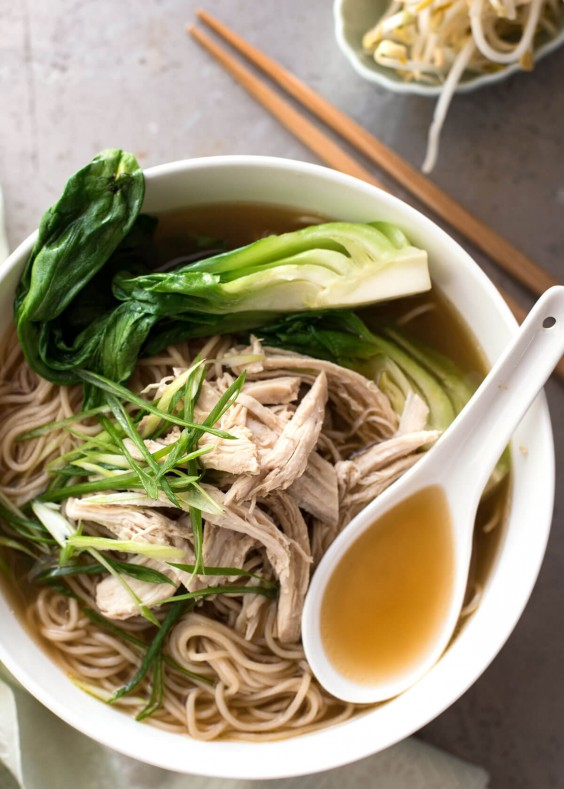 Chinese Chicken Noodle Soup