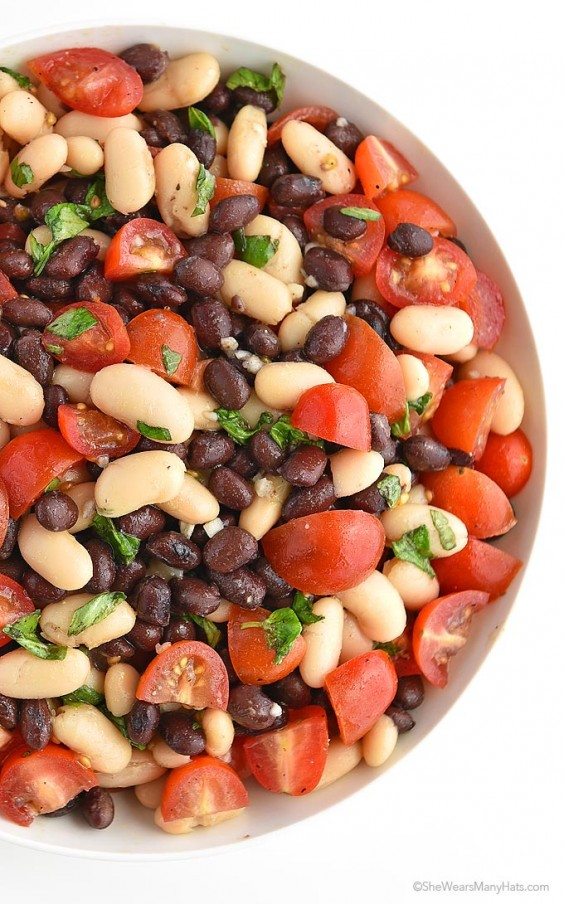 One Pot Meals: White and Black Bean Salad
