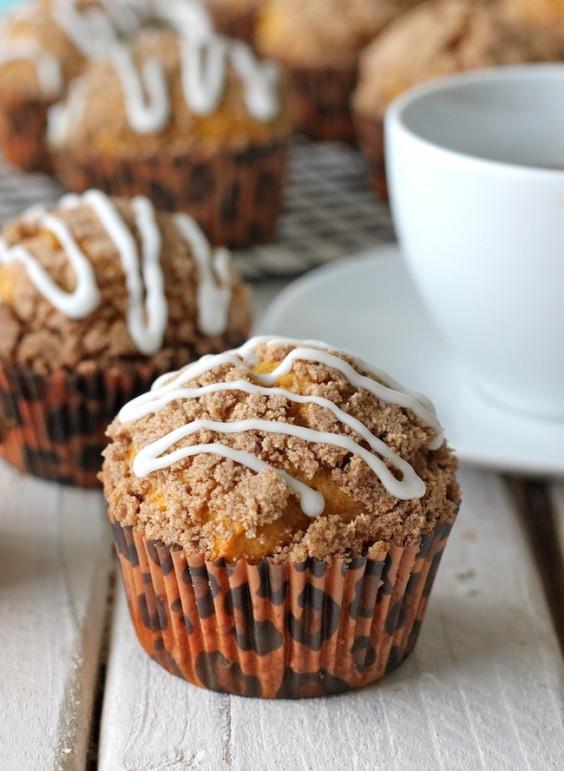 28. Pumpkin Streusel Muffins