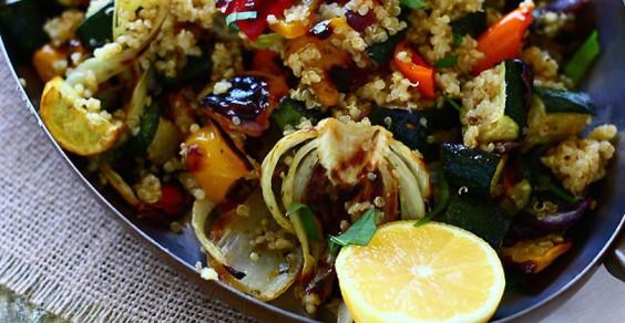 Roasted Veggie Quinoa