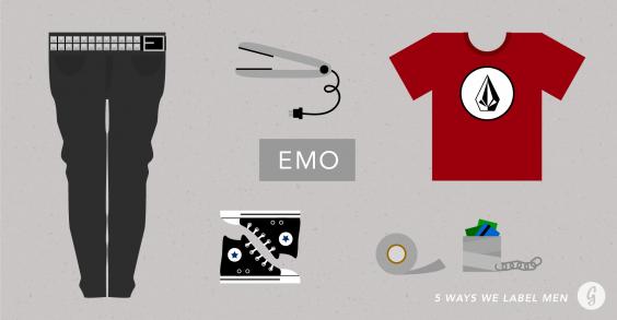5 Ways We Label Men: Emo