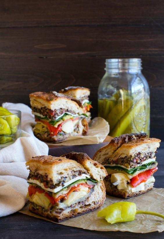 Picnic: Vegetarian Muffuletta